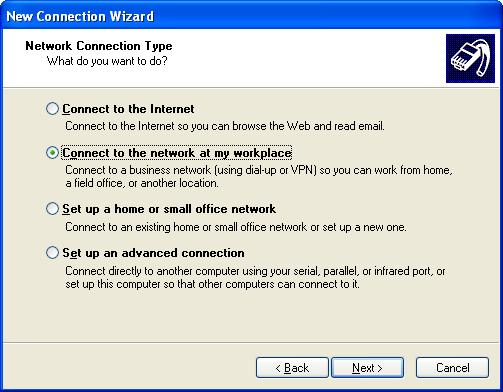 Configure Windows XP Built-in PPTP VPN client for SUPERFREEVPN.COM service